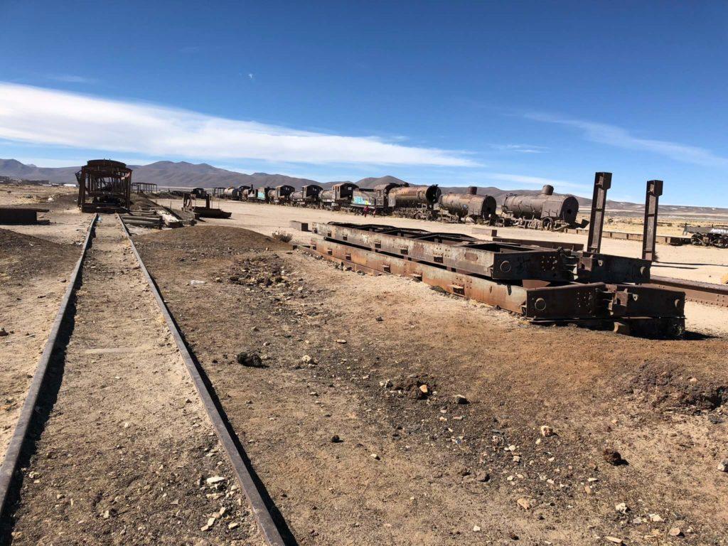 Uyuni : Train cimetière