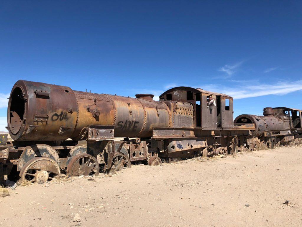 Uyuni : Cimetière Train
