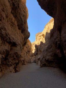 En route pour Sossusvlei : Canyon
