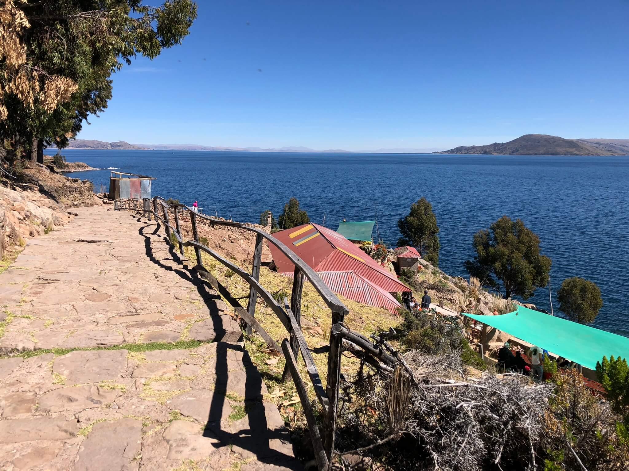 Lac Titicaca : Taquile Island
